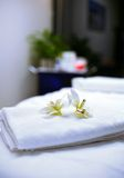 Massage towels Stock Images