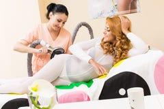 Massage transdermal Lizenzfreie Stockbilder