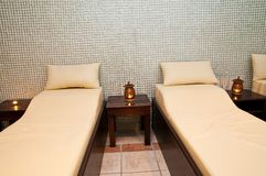 Massage treatment room Royalty Free Stock Image