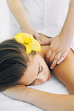 Massage treatment Royalty Free Stock Images