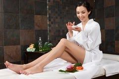 Massage und Badekurort stockfotos