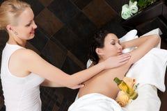 Massage und Badekurort stockbild