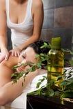 Massage und Badekurort lizenzfreie stockfotos