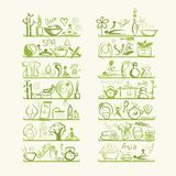 Massage und Badekurortkonzept, Hintergrund für Ihr Lizenzfreies Stockfoto