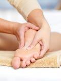 Massage van voet Royalty-vrije Stock Afbeelding