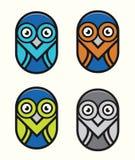Massage-Vogel-Illustration Stockfoto