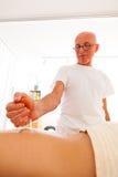 massageavkopplingrest royaltyfria foton