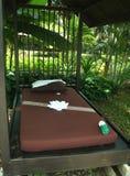 Massagebett Stockbilder