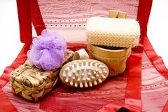 Massageborstel stock afbeeldingen