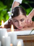 Massagebrunnsort Royaltyfri Fotografi