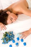 massagebrunnsort arkivbild