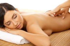 massagebrunnsort Arkivbilder