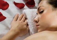 Massaged Royalty Free Stock Photography
