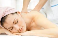 Massaged Royalty Free Stock Photo
