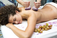 Massagedruvapåsar Royaltyfri Bild