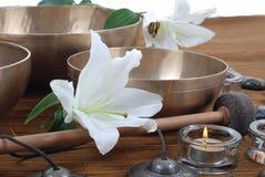 Massagehilfsmittel stockbilder
