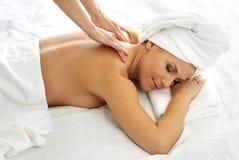 Massagem Imagem de Stock