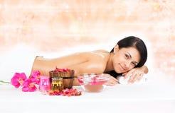 Massagem da mulher Fotografia de Stock Royalty Free