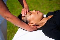 Massagem da polaridade Fotografia de Stock