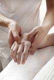 Massagem da síndrome do canal cárpico Imagem de Stock Royalty Free