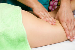 Massagem de Anticellulite Imagem de Stock Royalty Free