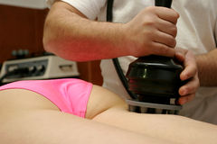 Massagem de Anticellulite Imagem de Stock