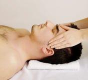 Massagem de cara Foto de Stock Royalty Free