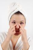 Massagem de face #5 Imagens de Stock