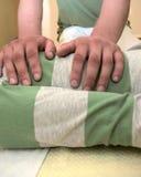 Massagem de Shiatsu Foto de Stock