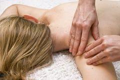Massagem de Tharapy Fotos de Stock