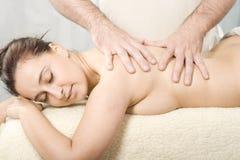 Massagem do corpo Fotos de Stock Royalty Free