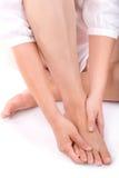 Massagem do pé Fotografia de Stock