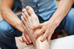Massagem do pé Foto de Stock