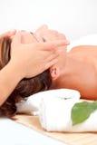 Massagem do wellness dos termas do bem estar Imagens de Stock