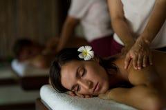 Massagem dos pares Imagens de Stock Royalty Free