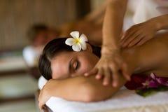 Massagem dos termas fotos de stock royalty free