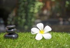 Massagem dos termas com termas da rocha, Tailândia, foco seleto Imagem de Stock Royalty Free