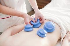 Massagem dos termas e dos wellnes Fotos de Stock Royalty Free
