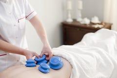 Massagem dos termas e dos wellnes Foto de Stock Royalty Free