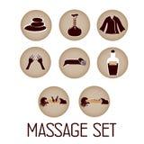 Massagem e termas Fotografia de Stock Royalty Free