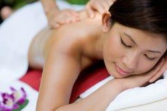 Massagem exterior Foto de Stock Royalty Free