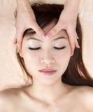 Massagem facial Fotos de Stock
