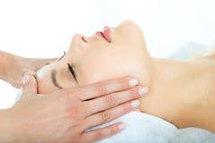 massagen kopplar av Arkivbild