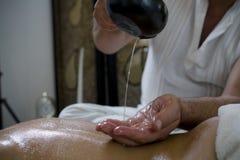 massagen kopplar av Royaltyfri Bild