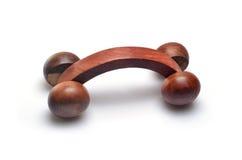 Massager de madera Fotos de archivo libres de regalías
