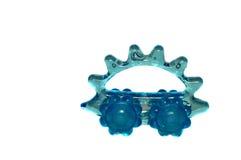 Massager del rodillo - erizo azul Imágenes de archivo libres de regalías