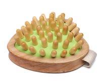 massager drewniany Obrazy Stock