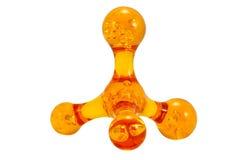 massager klingerytu kolor żółty Fotografia Stock