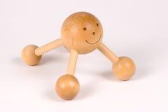 Massager traseiro da madeira Fotografia de Stock Royalty Free