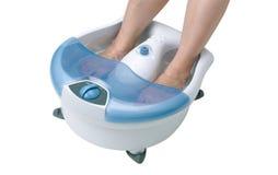 Massager vibrante de los pies imagen de archivo libre de regalías